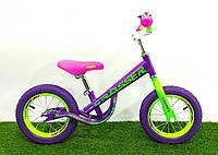 """Детский беговел Crosser Balance bike NEW 14"""" фиолетовый"""