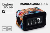 Часы будильник радио Bigben RR30Graff, ОРИГИНАЛ!, годинник, будильник, электронные часы