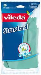 Рукавички латексні Standard, Vileda, розмір S, 1 шт.