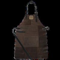 Фартук для гриля темно-коричневый Holla Grill, фото 1