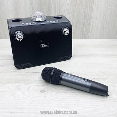 Портативная караоке система Hoco BS41 (Black), фото 3