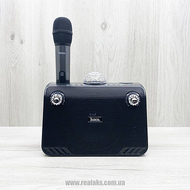Портативная караоке система Hoco BS41 (Black), фото 2