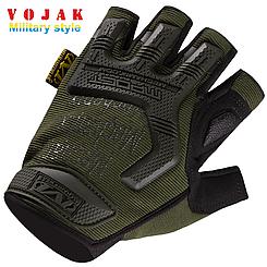 Беспалые тактические перчатки Mechanix M-Pact Olive
