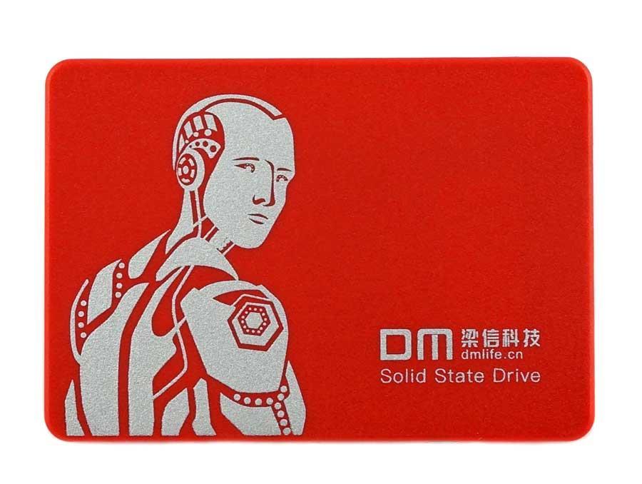 """SSD диск 240GB RED - накопительный твердотельный (жесткий) 2.5"""" SATAIII DM-F550/240G"""