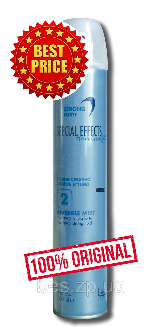 Сухий лак сильної фіксації для всіх типів волосся №2 Invisible Mist Strong Hold