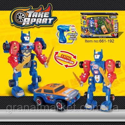Детский конструктор Робот-трансформер Take Apart 661-192 на 43 детали