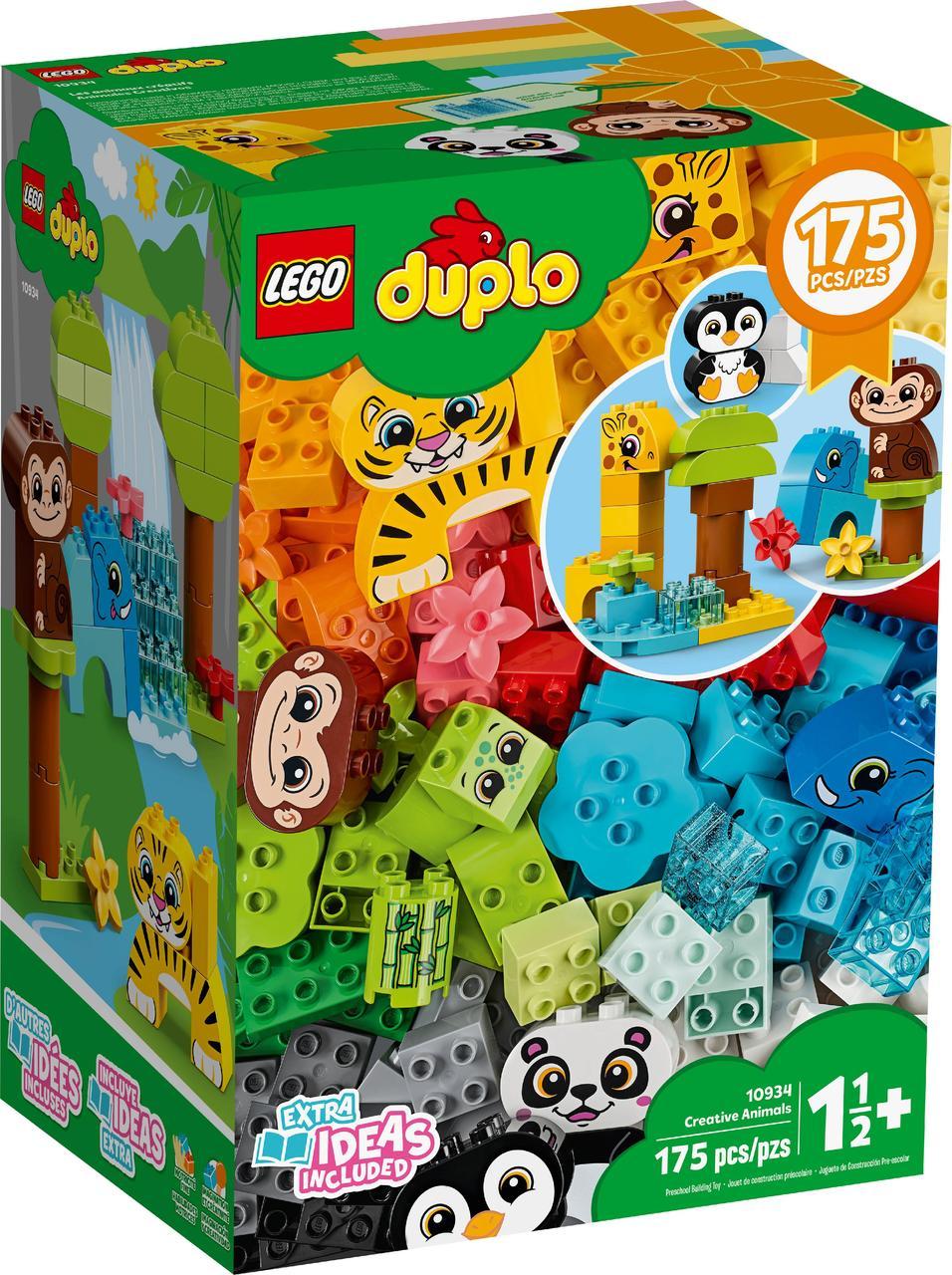 Lego Duplo Набор для веселого творчества Веселые зверюшки (10934)