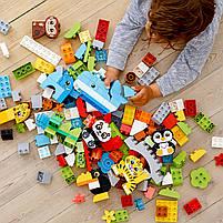 Lego Duplo Набор для веселого творчества Веселые зверюшки (10934), фото 8