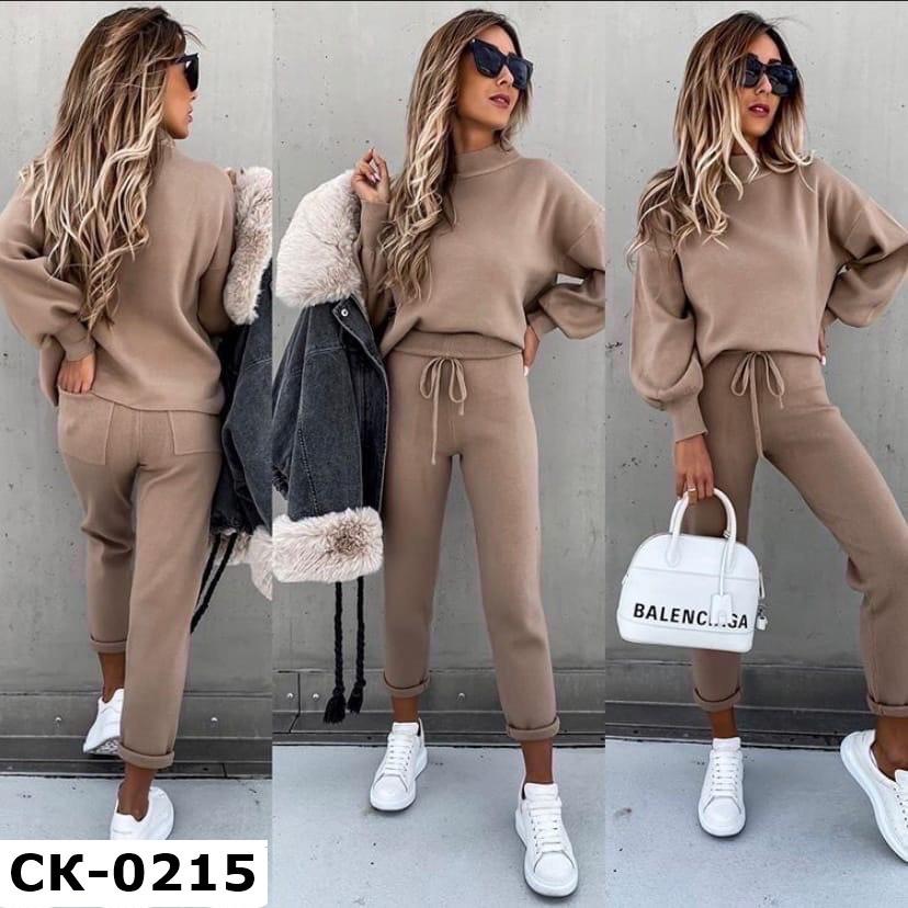 Женский теплый стильный ангоровый костюм 3 цвета С-М +большие размеры