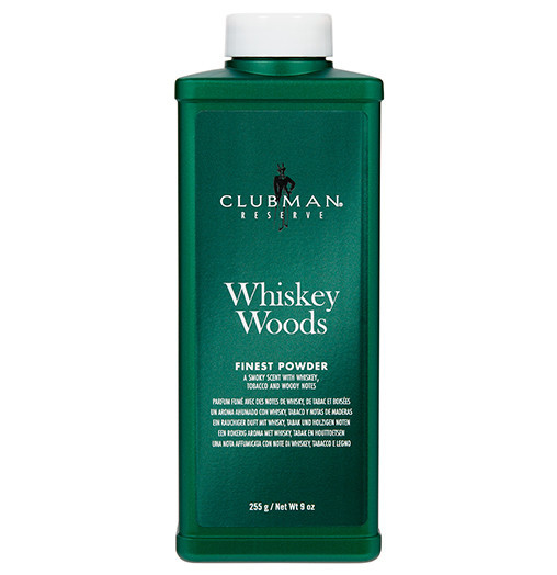 Тальк Clubman Pinaud Whiskey Woods Talc 255г