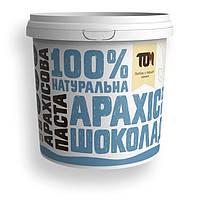 Заменитель питания MasloTom арахисовая паста с шоколадом и солью кранч, 1 кг