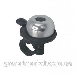 Звонок для самоката Bavarsport Серебро (GS07382)