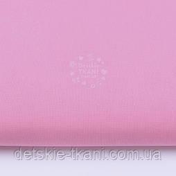 Однотонна польська бязь темно-рожева (№29а).