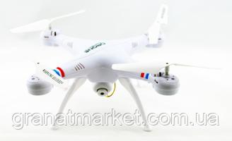 Квадрокоптер 1 million wi-fi 1000000 с камерой Pro Version Белый