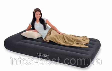 Надувные матрасы Pillow Rest Classic Intex 66768 (137x191x23 см), фото 2