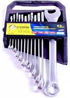 Сталь 48036 Набір ключів комбінованих CRV 8 шт