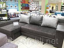 Кутовий диван власного виробництва Брауні