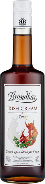 "Сироп ТМ ""Brandbar"" 0.7 л. Ирландский крем"