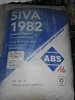 Шпаклевка стартовая гипсовая ABS Siva (Турция), 25 кг