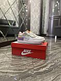 Женские кроссовки Nike Air Force 1 Shadow Violet Pink, женские кроссовки найк аир форс 1 шадоу, фото 7
