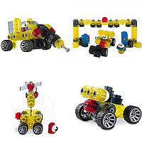 Детский конструктор Kiditec 1308 M-set Advanced-2 372 детали