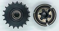 Центробежное сцепление для бензиновых и дизельных двигателей под цепь ИЖ шаг 520 (вал 19мм)