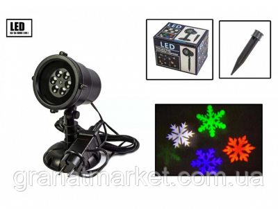 Новогодний уличный лазерный проектор X-Laser XX-TA-1008
