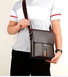 Сучасна компактна чоловіча сумка, фото 2