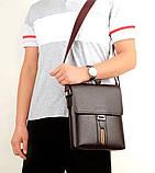 Сучасна компактна чоловіча сумка, фото 3