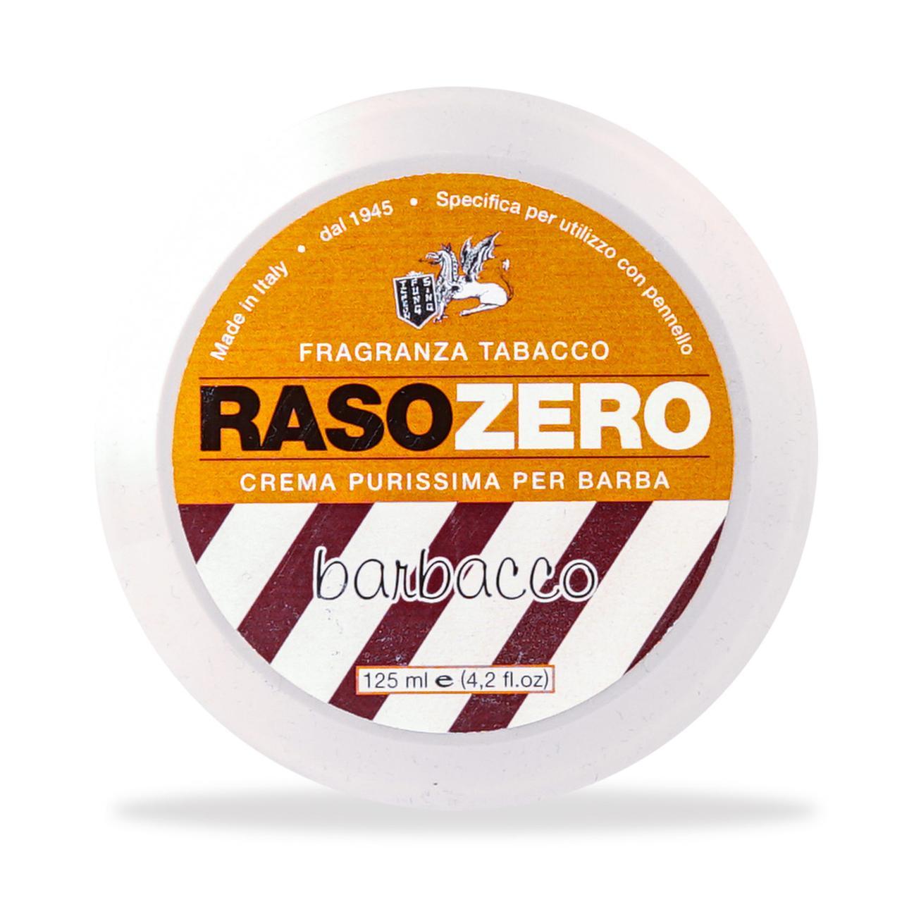 Крем для бритья Rasozero Barbacco Shaving Cream 125мл
