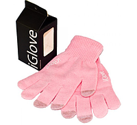 Перчатки SmartTouch iGlove АйГлов Розовые