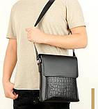 Мужская сумка почтальона, фото 4