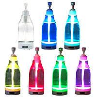 Дозатор диспенсер для жидкого мыла с подсветкой 7 цветов мыльница Soap Brite 400 мл (реальные фото)