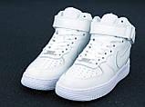 Кроссовки Nike Air Force 1 Mid '07, кроссовки найк аир форс, кросівки Nike Air Force 1 Mid 07, фото 3