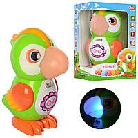 Интерактивная развивающая игрушка сенсорный Попугай Play Smart 7496, 43 стихов, 10 скороговорок, 15 песен