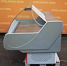 Холодильная среднетемпературная витрина «Технохолод Невада» 1.6 м., (Украина), широкая выкладка 90 см., Б/у, фото 6