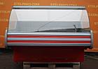 Холодильная среднетемпературная витрина «Технохолод Невада» 1.6 м., (Украина), широкая выкладка 90 см., Б/у, фото 2