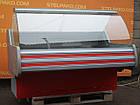 Холодильная среднетемпературная витрина «Технохолод Невада» 1.6 м., (Украина), широкая выкладка 90 см., Б/у, фото 3