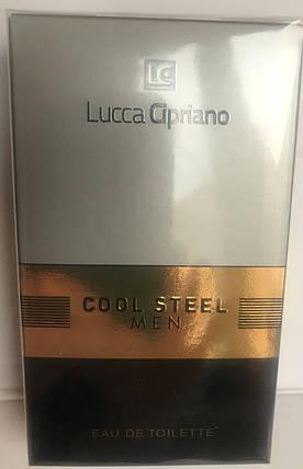 Туалетная вода Lucca Cipriano Cool Steel Men 100 мл, фото 2