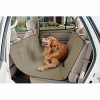 Чехол для перевозки животных накидка на заднее сиденье в багажник 145 x 150 см (Живые фото)