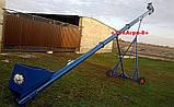 Зернопогрузчик скребковый, погрузчик зерна скребковый транспортер, фото 10