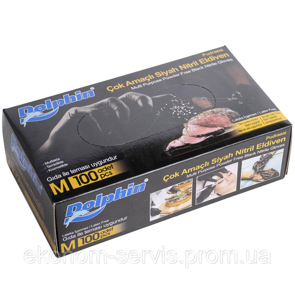 Перчатки нитриловые DoIphin 100 шт. M.