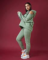 Женский теплый спортивный костюм.Размеры:48/50,52/54., фото 1