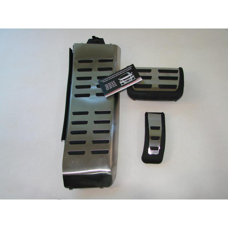 Накладки на педали (Original Style) для Audi A4 2008-2012 (АКПП)