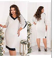 Красивое женское платье большого размера, фото 1
