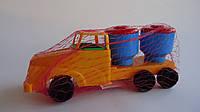 Детская машина Молоковоз160x86x108мм.Машина  для мальчика Молоковоз.Автомобиль Молоковоз.Стройтехника детская.
