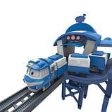 Игровой набор Silverlit Robot Trains Станция Кея (80170), фото 2