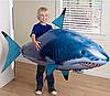 Летающая рыба акула на радиоуправлении надувная. (01290)