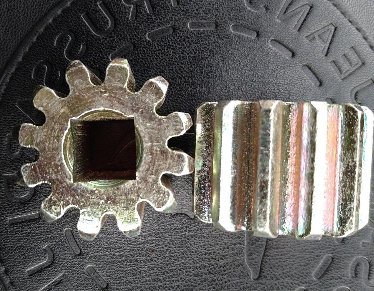 Звездочка (шестерня) под ключ чироз, оригинал Турция, четырехгранная шестеренка ремонта черос