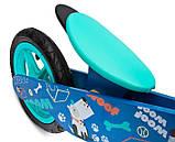 Велобег - беговел Caretero (Toyz) Zap деревянный колеса надувные 12 дюймов, фото 6